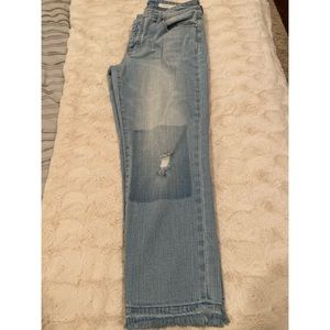 Anthropologie Pilcro Hyphen cropped jeans, 28